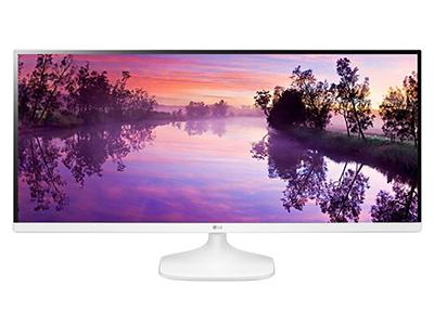 "LG 34UM56    ""产品类型: LED显示器,广视角显示器,护眼显示器 产品定位: 电子竞技,设计制图 屏幕尺寸: 34英寸 面板类型: IPS 最佳分辨率: 2560x1080 可视角度: 178/178° 视频接口: DVI,HDMI"""