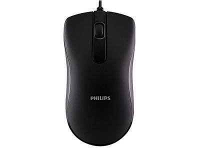 """飞利浦SPK7101有线鼠标    """"适用类型: 经济实用,商务舒适 鼠标大小: 普通鼠 最高分辨率: 1000dpi 刷新率: 3300帧/秒 按键数: 3个 滚轮方向: 双向滚轮 连接方式: 有线 工作方式: 光电"""""""