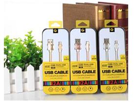 """米耳 D6 (I6) """"适用:A[PLE系列/此类接口产品   特性:可升级芯片,急速充电   线材:德国进口pc材料   传输铜丝:90根   版本:USB2.0   线长:1m   颜色:金色、银色、玫瑰金  产品特点: 1.独有可升级芯片,同步IOS9.2系统升级,无需换线。 2.USB2.0接口,完全兼容iPhone。 3.采用德国进口TPE、PC材料,柔软耐扯拉,不易变色。 4.传输铜丝:90根纯铜丝,远超标准,提高充电速率。 5.内置独有高弹力纤维纱防断丝,可承受25kg拉力。"""""""