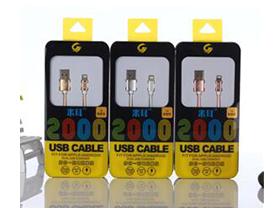 """米耳 D6A(I6)2米线 """"适用:A[PLE系列/此类接口产品   特性:可升级芯片,急速充电   线材:德国进口pc材料   传输铜丝:90根   版本:USB2.0   线长:2m   颜色:金色、银色、玫瑰金   产品特点: 1.独有可升级芯片,同步IOS9.2系统升级,无需换线。 2.USB2.0接口,完全兼容iPhone。 3.采用德国进口TPE、PC材料,柔软耐扯拉,不易变色。 4.传输铜丝:90根纯铜丝,远超标准,提高充电速率。 5.内置独有高弹力纤维纱防断丝,可承受25kg拉力"""""""