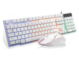 极顺XT510  七彩发光 套件 时尚型悬浮高低键帽套件键盘         防水键盘  镭雕字符  双层包装大气                   品质保证    内置加铁板  7彩背光