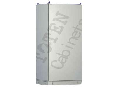 图腾 CC系列控制柜 符合ANSI/EIA RS-310-D、IEC297-2、DIN41491; PART1、DIN41494; PART7、 GB/T3047.2- 92标准. 特点: ·               箱体框架采用专利型材焊接成一体,型材表面预制间距为25MM模数安装孔;