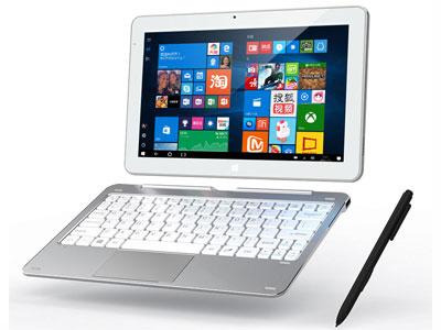 酷比魔方 MIX Plus10.6寸1920*1080 IPS全视角(16:9) 支持电磁笔 intel Kabylake 7Y30 1.61GHz(峰值2.6GHz)4GB/128G 前置200后置500万摄像头 Type C接口 蓝牙 WIFI 重力感应 Micro HDMI OTG GPS 以太网 Windows10系统