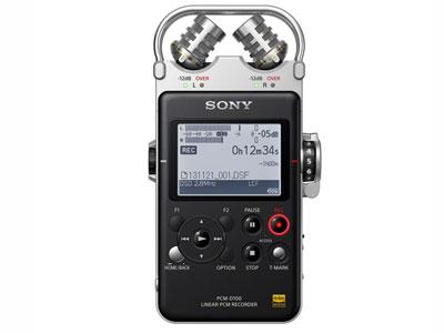 索尼 PCM-D100  麦克风:15毫米,XY方向可调 DSD录音:2.8224MHz 线性PCM录音:192/176.4 24位 播放格式:DSD (2.8224MHz)、WAV、FLAC、MP3、WMA、AAC 信噪比(针对线路输入录制):100 dB或以上 电源:AC适配器(AC 100V-240V、50/60Hz)或4节5号碱性电池 支持Memory Stick pro-HG/Memory Stick PRO Duo/SD/SD HC/SD XC存储卡