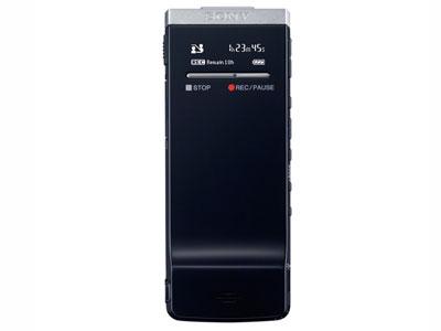 索尼 ICD-TX50  内存容量:4GB 具备记忆卡插槽 录音时间(内存容量):约6小时0分钟(LPCM 44.1kHz,16bit) 录音频率:约95-20,000Hz(LPCM 44.1kHz,16bit) 录音格式:Linear PCM/MP3 电池类型:内置锂电池 随机软件:Sound Organizer 尺寸(宽*高*深):约40.8mm × 102.3mm × 6.4mm 质量(包含电池):约50g 麦克风系统:立体声麦克风/数字麦克风
