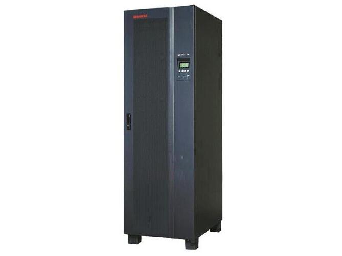 山特 3C3EX20KS/30KS/40KS/60KS/80KS 城堡3C3 EX系列采用了双转换结构,是三相高频在线式UPS。本产品适用于中小型数据中心、网络管理中心、企业服务器机房、电压瞬时跌落或减幅震荡,高压脉冲、电压波动、浪涌电压、谐波失真、频率波动等状况可提供良好的解决方案,为用户的负载提供安全可靠的电源保障