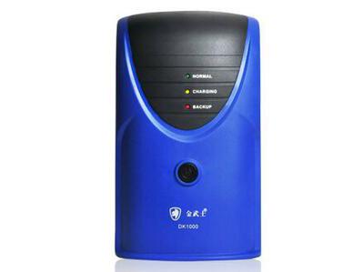 金武士 DK1000 金武士DK1000电源主机:1台; 蓄电池12V7AH:2块(内置蓄电池); 标准加厚电池柜:无