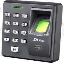 中控FR2200指纹读头配合中控INBIO控制器使用,指纹+刷卡+密码