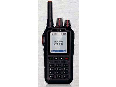 公网 T11 双模  公网系统CDMA2000 1X 频率400-480MHz(调频) 824~894MHz(公网) 规格122x60x37mm 重量约200g(含电池) 电池容量2800mAh(标配) 3600mAh(选配) 工作电压4.2V DC