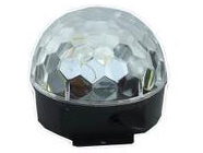 帕灯 FH-LX-002 无屏无按键,  光源::6x1W LED(1R/1G/1B/1W/1O/1P) 电源:AC100-240V,50/60HZ 额定功率:15W  模式:自动/声音毛重:0.61KG 尺寸:18.1* 18.1 *15.4MM  包装:18PCS/CTN 特点:RGB LED水晶魔球灯。