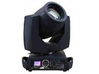 帕灯 FH-230 光束灯电源: AC100-240V/50-60Hz 额定功率:350W  色温: 8000K 颜色:带有14种颜色+空白 图案:带有17个固定图案片+空白 棱镜:旋转八面棱镜,可以双向旋转,变焦 镜头:光学组合透镜 调光: 0-100\\%线性调节 双片式频闪: 1-12次/秒   显示屏:触摸屏 马达数量:共11个超静音马达,16Bit驱动 控制方式: 自走/声控/DMX/主从联机 通道数量: 16/20通道 投射光范围:  X轴540°  Y轴270°可自动校正定位 ,速度可调