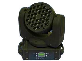 帕灯 FH-108 光束染色,36颗 小金刚,  灯珠功率: 36*3W 科锐 LED灯珠(R8 G10 B10 W8)(CREE灯珠) 使用寿命: 50,000小时(100000小时) 电压: 90-240V AC/ 50-60HZ 额定功率: 150W(140w) 控制模式: 声控、自走、DMX、主从联机 DMX通道:9/16(11/15) 尺寸: 260*165*265mm(295*190*344mm) 重量: 4.8/5.6kg(净重:6.5kg) 效果描述:选用进口科瑞灯珠、色彩纯正,小角度凹形