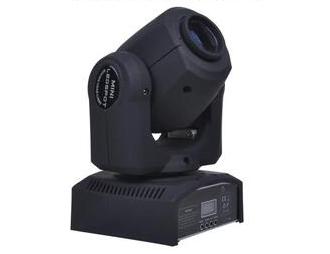 帕灯 FH-30 30图案小摇头, 电压:电压:AC90-240V,50/60Hz 功率:100W(65W) 光源:1*30W科锐(CREE)LED白光 使用寿命:50000小时(100000小时) 通道:9/11CH DMX(8/11CH) 颜色:一个颜色盘,7种颜色 + 白光 图案:一个图案盘,7种图案片 + 白光, X轴:水平旋转最大角度540° Y轴:垂直旋转最大角度270° 频闪:1-20次/秒,随意选择频闪速度由慢到快 调光:电子调光0\% - 100\%,出光角12℃ 控制方式:DMX