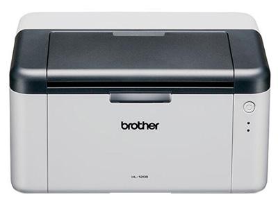 """兄弟HL-1208    """"产品类型: 黑白激光打印机 最大打印幅面: A4 黑白打印速度: 20ppm 最高分辨率: 600×600dpi 耗材类型: 鼓粉分离 进纸盒容量: 输入量:150页 输出量:50页 双面打印: 手动"""""""