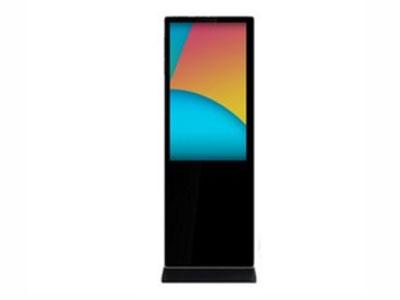 海曦蓝 落地式数字标牌  产品类型: 高清数字标牌 屏幕尺寸: 42英寸 分辩率: 1920x1080 屏幕比例: 16:9(宽屏) 亮度: 350cd/㎡ 对比度: 3000:1 通信接口: USB,RJ45 安装方式: 立式柜机