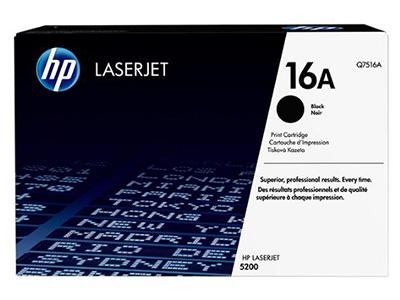 惠普 HP LaserJet Q7516A 16A 黑色硒鼓 适用LaserJet 5200系列