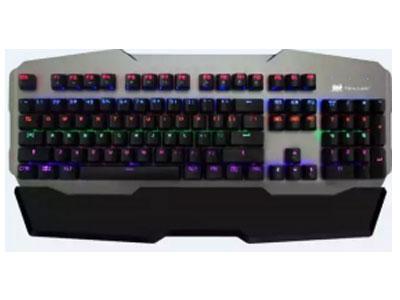优派 KU536  青轴机械键盘,铝合金底板,跑马灯 ,宽大可拆卸手托 轴可插拔
