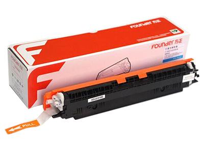 方正(Founder)F-CE311 CF351A 蓝色硒鼓 高清 适用惠普HP 126A CP1025 M175nw 100 MFP 佳能LBP 7010C