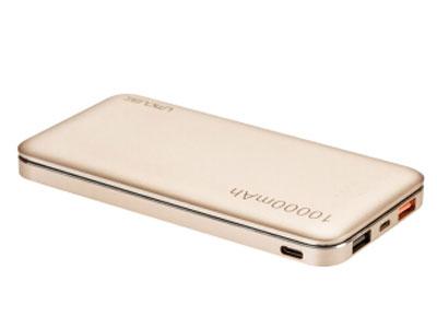 酷比魔方 M105  外壳材质 合金 容量段 10000mAh-11999mAh 电芯类型 锂聚合物电池 净重(g) 230 特性 USB接口数 双口 电量数字显示 不支持 TYPE-C输入 支持 苹果输入 支持 双向快充 支持