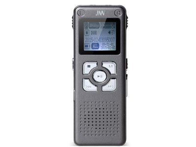 JNN Q300录音笔  电池规格: 锂电池附加功能: 录音功能 外放功能屏幕尺寸: 1.2英寸音频播放格式: MP3 WAV显示屏类型: OLED成色: 全新