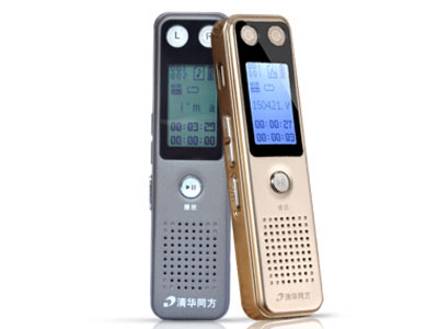 清华同方TF-86录音笔  用途:学习形状:棒棒型电池规格:锂电池容量:8G屏幕:非触摸屏外观材质:金属