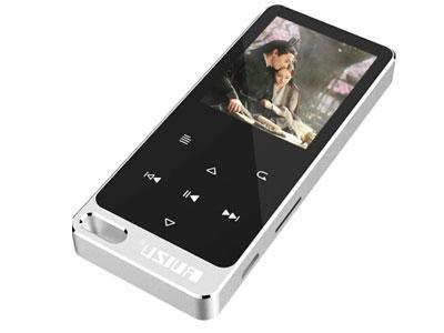 锐族 x05s  附加功能:外放功能音频播放格式:MP3容量:8G屏幕尺寸:其它类别:运动播放器