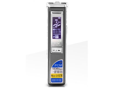 声力士U40专业录音笔高清远距微型降噪迷你声控MP3有屏播放器  内存容量: 8GB 16GB 存储类型: 闪存 存储卡类型: SD卡电池规格: 锂电池 附加功能: 录音功能 外放功能 屏幕尺寸: 1.1英寸 *中文显示,锌合金外壳 *一键开机录音、一键删除功能,TF卡扩展 *快速充电功能                                    *最高PCM 1536Kbps 5种录音格式                                *支持音乐播放