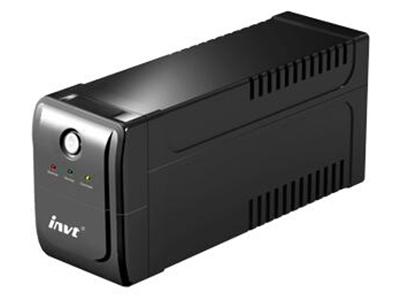 """英威腾BU系列后备式UPS电源    """"1、宽广的电压输入范围165V±5V~275V±5V,避免频繁地切换至电池模式,延长电池使用寿命。 2、自动电压调节功能(AVR),保证负载运行在安全的电压范围内。 3、在无市电输入的时候可以开机使用,具备直流冷启动功能。 4、采用先进的宽频输入技术,频率范围40~70 Hz,UPS在市电电网频率发生严重飘移时仍能正常工作,使之具有很强的发电机兼容匹配性。 5、当市电发生长时间故障而致使UPS因电池欠压而自动保护关机时,在市电恢复正常后能自动开机且对电池自动充电。 6、具有电池欠压、过"""
