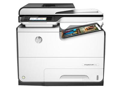 """HP 577dw    """"产品类型: 页宽一体机 涵盖功能: 打印/复印/扫描/传真 最大处理幅面: A4 耗材类型: 暂无数据 黑白打印速度: 草稿模式:70ppm,iOS:50ppm(与激光设备比较) 打印分辨率: 黑白:600×600dpi,最高:1200×1200dpi 彩色:600×600dpi,最高:2400×1200dpi 网络功能: 无线/有线网络打印 双面功能: 自动"""""""