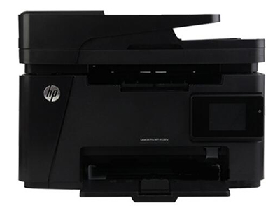 """HP M128fw    """"产品类型: 黑白激光多功能一体机 涵盖功能: 打印/复印/扫描/传真 最大处理幅面: A4 耗材类型: 鼓粉一体 黑白打印速度: 20ppm 打印分辨率: 600×600dpi 网络功能: 支持无线/有线网络打印 双面功能: 手动"""""""