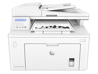 """HP M227sdn    """"产品类型: 黑白激光多功能一体机 涵盖功能: 打印/复印/扫描 最大处理幅面: A4 耗材类型: 鼓粉分离 黑白打印速度: 28ppm 打印分辨率: 1200×1200dpi 网络功能: 有线网络打印 双面功能: 自动"""""""