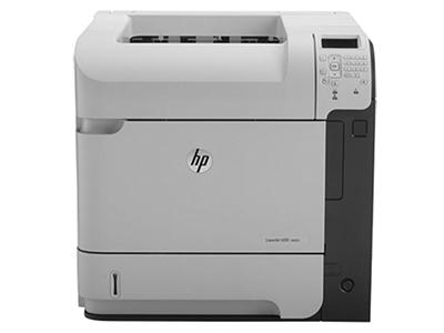 "HP M603dn    ""产品类型: 黑白激光打印机 最大打印幅面: A4 黑白打印速度: 60ppm 最高分辨率: 1200×1200dpi 耗材类型: 鼓粉一体 进纸盒容量: 标配:500页,多功能进纸器:100页 网络打印: 支持无线/有线网络打印 双面打印: 自动"""