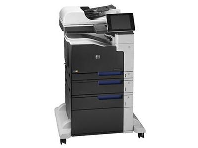 """HP M775f    """"产品类型: 彩色激光多功能一体机 涵盖功能: 打印/复印/扫描/传真 最大处理幅面: A3 耗材类型: 鼓粉一体 黑白打印速度: 30ppm 打印分辨率: 600×600dpi 网络功能: 支持有线网络打印 双面功能: 自动"""""""