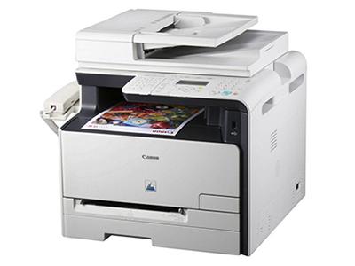 """佳能MF8050Cn    """"产品类型: 彩色激光多功能一体机 涵盖功能: 打印/复印/扫描/传真 最大处理幅面: A4 耗材类型: 鼓粉一体 黑白打印速度: 12ppm 打印分辨率: 600×600dpi 网络功能: 有线网络打印 双面功能: 手动"""""""