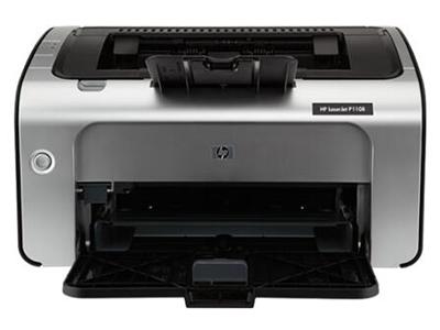 HP P1108    A4幅面,18页/分,内存2MB,月印量5000页,耗材型号:CC388A,随机耗材可打印1500页