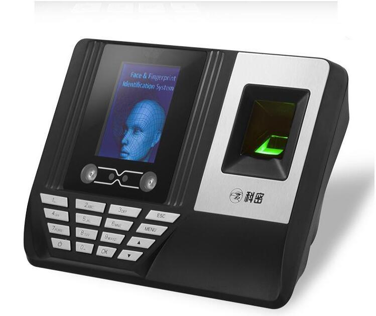 科密Q9310指纹刷卡考勤机批发    超市,工地等专用签到机