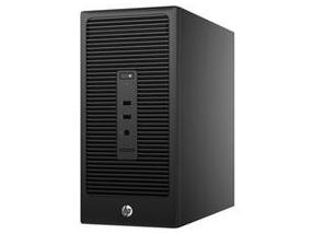 惠普 280 Pro G2 MT Z7B22PA 280 Pro G2 MT(前置USB3.0)/New Celeron Dual Core G3900(2.8G/2M/2核)/4G(DDR4 2133*)/500G(SATA)/NOCD/Windows 10 Home 64位/USB KB/USB Optical  Mouse/新180W 防雷电源/3-3-3有限保修