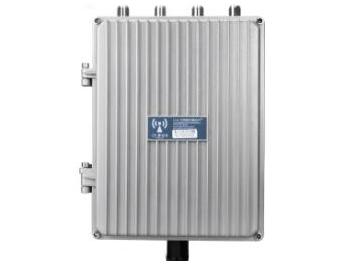 乐光 HWAP80e 1个WAN/LAN自翻转口 802.11ac双频户外AP,发射功率500MW,高通三芯片QCA9563+QCA9882+QCA8334,128M内存,16M闪存,适用于广场/公园/小区/村庄等,产品功耗8W,国标802.3af协议,支持48V POE供电,无线带机量100台,无线速率1200M。(可选 玻璃钢天线8DBi*4)