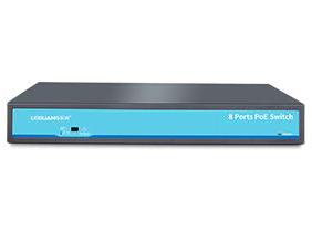 乐光 LG-P1031 •全百兆自适应RJ45端口 •8个百兆下联接口 •一键配置端口隔离 •抑制网络风暴 •高速的包转发能力 •MDI/MDIX自动翻转 •符合多种标准 •充裕的背板带宽
