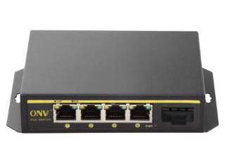 光网视 ONV-POE21004PF 网络升级改造而计的标准百兆PoE供电交换机,提供4个百兆以太网端口,单端口输出功率为15.4W