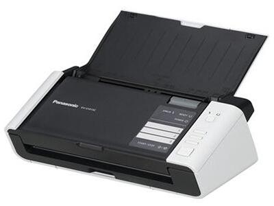 松下KV-S1015C    双面进纸扫描,单面扫描20ppm,双面扫描40ipm(图像),分辨率600dpi,接口USB2.0,ADF容量50页(21lbs、80g/m=)3张硬卡片,双进纸检测,图像自动定位,自动裁切/纠偏,自动调整亮度,动态阀值,纸白电平、自动分离、多色分离、自动区分黑白和彩色、等色操作、双通道、双曝光、光滑背景、去孔功能、名片-信纸A4
