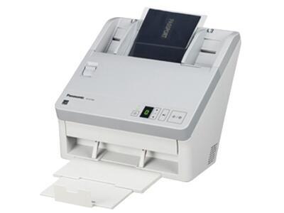 松下KV-SL1066    双面进纸扫描,可扫描为黑白和彩色两种,单面扫描65ppm,双面扫描130ipm(图像)(300dpi)(黑白/彩色),分辨率600dpi、1200dpi(差值),接口USB2.0,ADF容量100页(21lbs、80g/m=)3张硬卡片,双进纸检测,自动预览、自动扫描、通知功能、图像自动定位,自动裁切/纠偏,自动调整亮度,动态阀值,纸白电平、自动分离、多色分离、自动区分黑白和彩色、等色操作、双通道、双曝光、光滑背景、去孔功能、名片-信纸A4