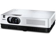 三洋 XW300C 产品类型:教育投影机 亮度:3000流明 对比度:600:1 标准分辨:XGA(1024×768) 屏幕比例