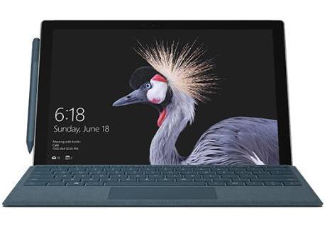 """微软 Surface Pro 在笔记本电脑、平板电脑与工作室模式间随意切换 配备第 7 代英特尔酷睿处理器 12.3"""" PixelSense 触控显示屏 支持 Surface 触控笔及 Surface Dial 预装 Windows 10 家庭版,Office 家庭和学生版"""