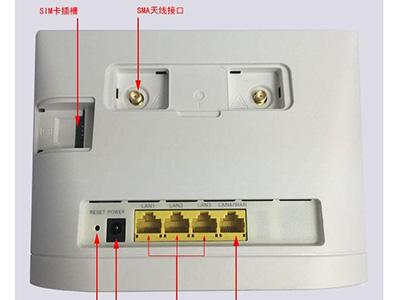 华为B315S-930全网通4G无线路由器转网线接口