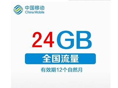 24G移动包年流量卡