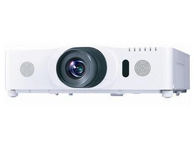 """日立HCP-D757U    """"投影技术: 3LCD 投影机特性: 互动 亮度: 5000流明 对比度: 3000:1 标准分辨率: WUXGA(1920*1200)"""""""