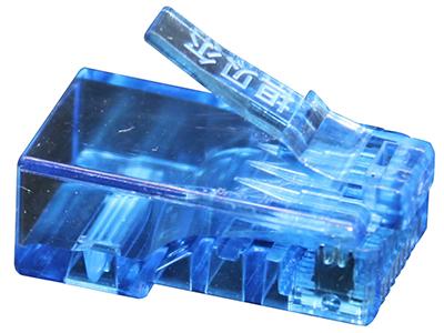 坦贝尔超五类水晶头蓝色