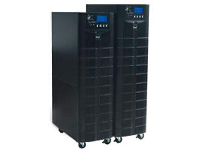 英威腾 HT11系列6~10kVA内置隔离变压器在线式UPS  广泛应用于政府、金融、通信、教育、交通、气象、广播电视、工商税务、医疗卫生、能源电力等各个 行业领域。 产品特点: ·超强的网络管理功能等优点。 ·在线式双变换结构设计,数字化控制技术、超高的输入、输出功率因数。 ·高速智能DSP控制,实现完美的系统性能与保护。 ·输出功率因数高达0.8,提供更强的带载能力。 ·输入过压、短路、过温等多重完善的保护功能。 ·独特的工业化设计,确保恶劣环境下安全运行。 ·可靠、滤波、稳定的正弦波输出。 ·输出隔离变压器。