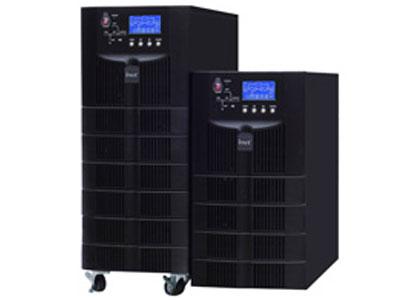 英威腾 HT11系列6~20kVA在线式UPS  广泛应用于政府、金融、通信、教育、交通、气象、广播电视、工商税务、医疗卫生、能源电力等各个 行业领域。 产品特点: ·智能化电池管理,超强的网络管理功能等优点。 ·双变换在线式结构设计,数字化控制技术、超高的输入、输出功率因数。 ·高速智能DSP控制,实现完美的系统性能与保护。 ·输出功率因数高达0.9,提供更强的带载能力。 ·超宽输入电压范围。 ·输入过压、短路、过温等多重完善的保护功能。 ·LCD/LED显示,显示丰富的机器信息。 ·可靠、滤波、稳定的正弦波输出。